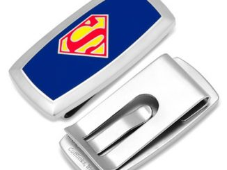 Superman Shield Logo Cushion Money Clip