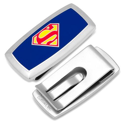Superman Shield Logo Cushion Money Clip