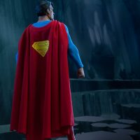 Superman Sixth Scale Figure Back