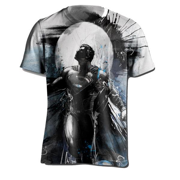 Superman Son of Krypton Watercolor T-Shirt