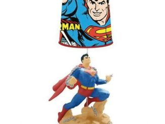 Superman Statue Lamp