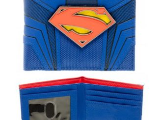 Superman Suit Up Bi-Fold Wallet
