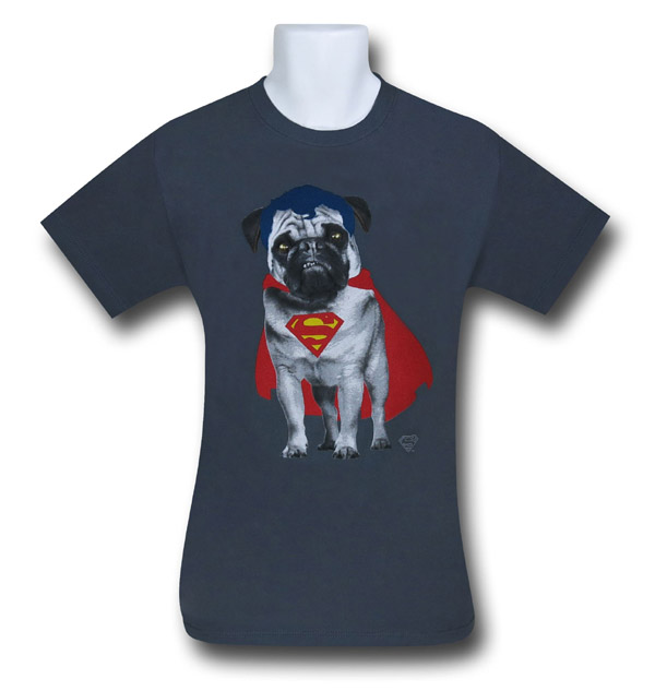 Superman Superpug T-Shirt