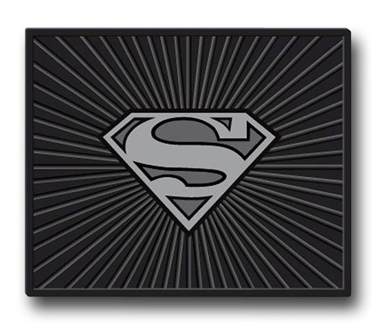 Superman Symbol Floor Mats