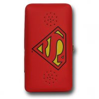 Superman Symbol Ladies Wallet with Speaker