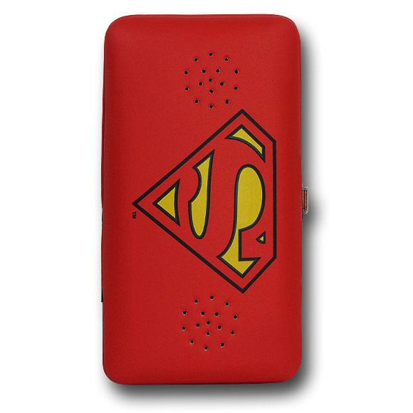 Superman Symbol Ladies Wallet with Speaker