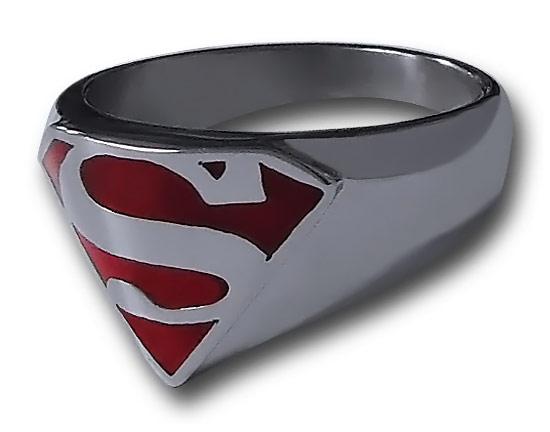 Superman Symbol Ring