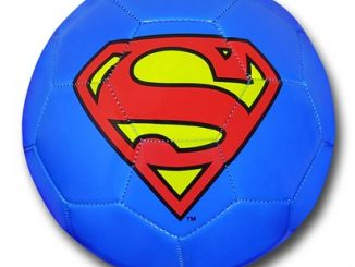 Superman Symbol Size 5 Soccer Ball