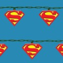 Superman Symbol String Lights