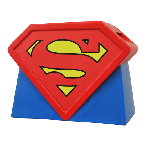 Superman The Animated Series Logo Cookie Jar
