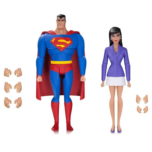 Superman The Animated Series Superman and Lois Action Figure 2-Pack