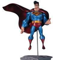 Superman The Man of Steel Metallic Finish Statue by Sean Cheeks Galloway