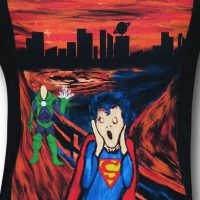 Superman The Scream Shirt