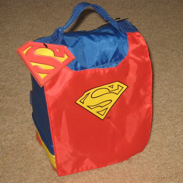 Superman Thermos Lunch Box with Cape
