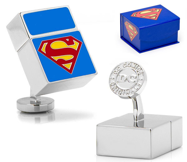 Superman USB Cufflinks