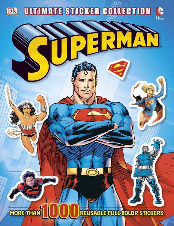 Superman Ultimate Sticker Book