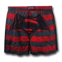 Superman V Batman Red Stripe Boxers