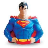 Superman Vinyl Bust Bank