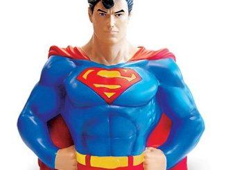 Superman Vinyl Bust Bank