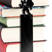 Superman Vinyl Record Bookmark
