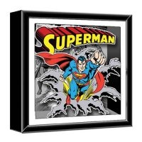 Superman Wood Shadow Box