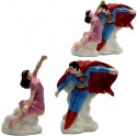 Superman and Lois Lane Salt Pepper Shakers