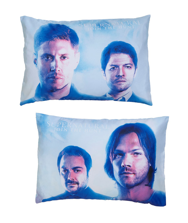 supernatural-characters-pillowcase-set