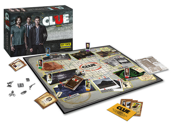 Supernatural Clue Game