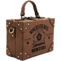 Supernatural Hunters Brown Suitcase Bag