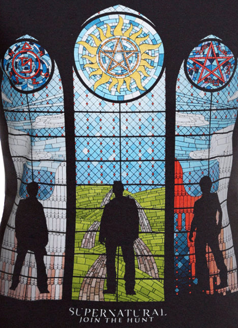 supernatural-stained-glass-girls-shirt