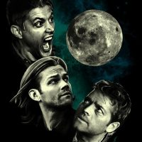 Supernatural Three Super Moon Shirt