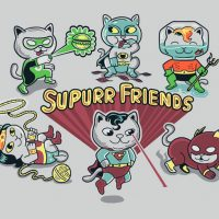 Supurrrr Friends TShirt
