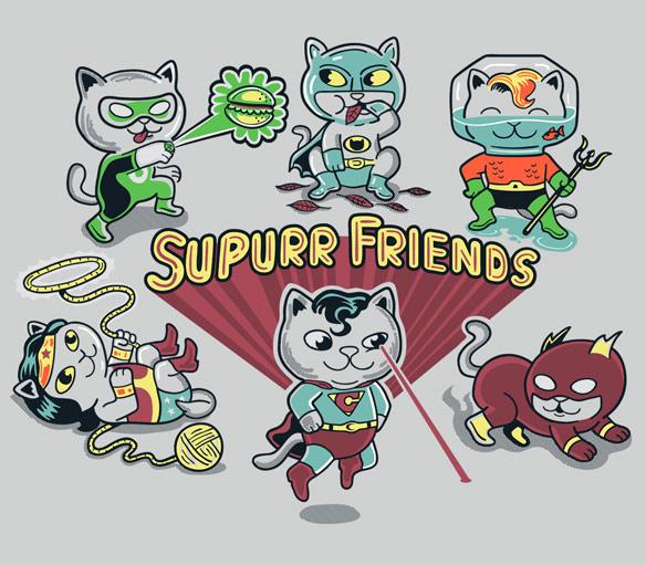 Supurrrr Friends TShirt