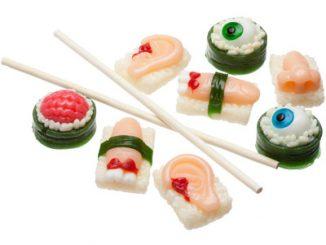 Sushi Body Parts Gummy Candy
