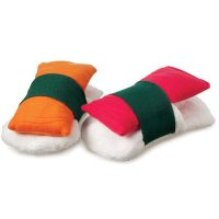 Sushi Plush Slippers