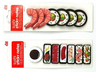 sushi sticky notes
