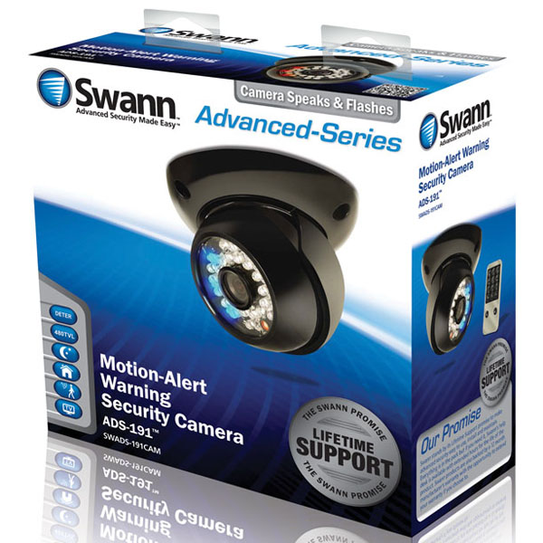 Swann Advanced Series Audio Warning Security Camera