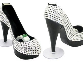 Swarovski Crystal Shoe Tape Dispenser