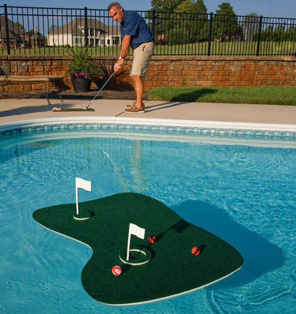 Swim Time Aqua Golf Backyard Game
