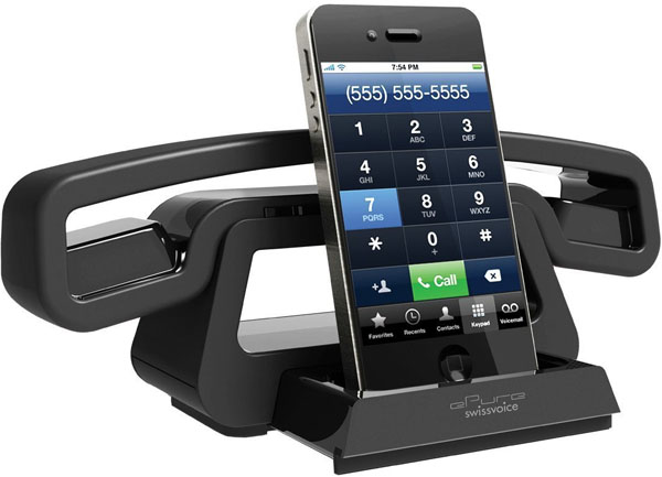 Swissvoice BH01I ePure Mobile Bluetooth Station for iPhone