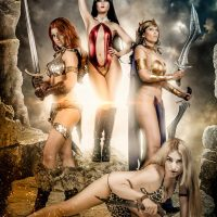 Swords of Sorrow Metal Poster