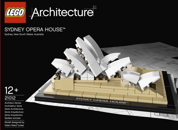 Sydney Opera House by LEGO
