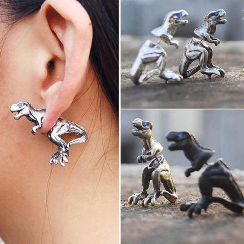 T-Rex Faux Gauge Earrings