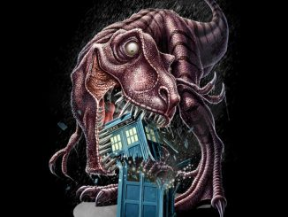 T-Rex Vs The TARDIS Shirt
