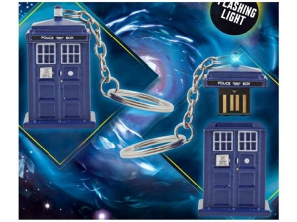 TARDIS 4GB USB Storage Memory Stick