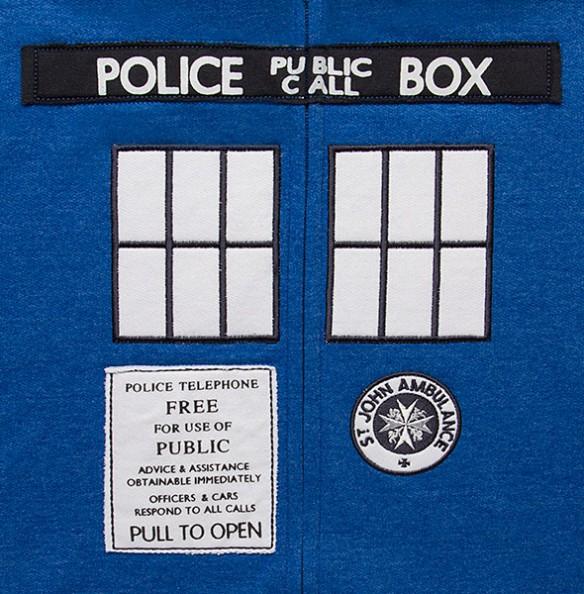 TARDIS Costume Hoodie