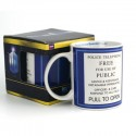 TARDIS Doctor Who Police Box Sign Mug