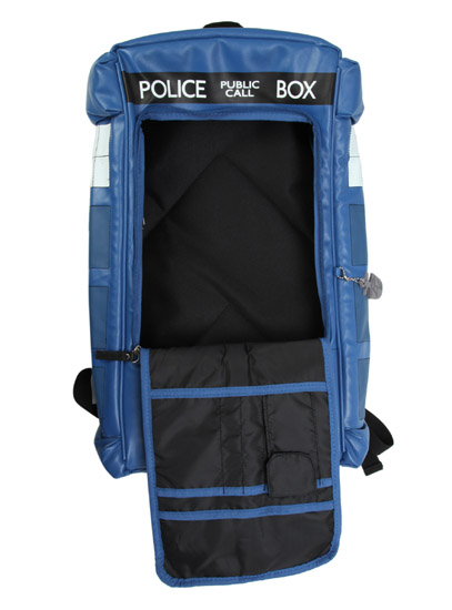TARDIS Figural Backpack