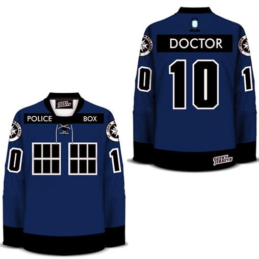 TARDIS Jersey