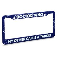 TARDIS License Plate Frame